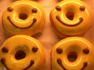 smiling donuts do not provide emotional nourishment